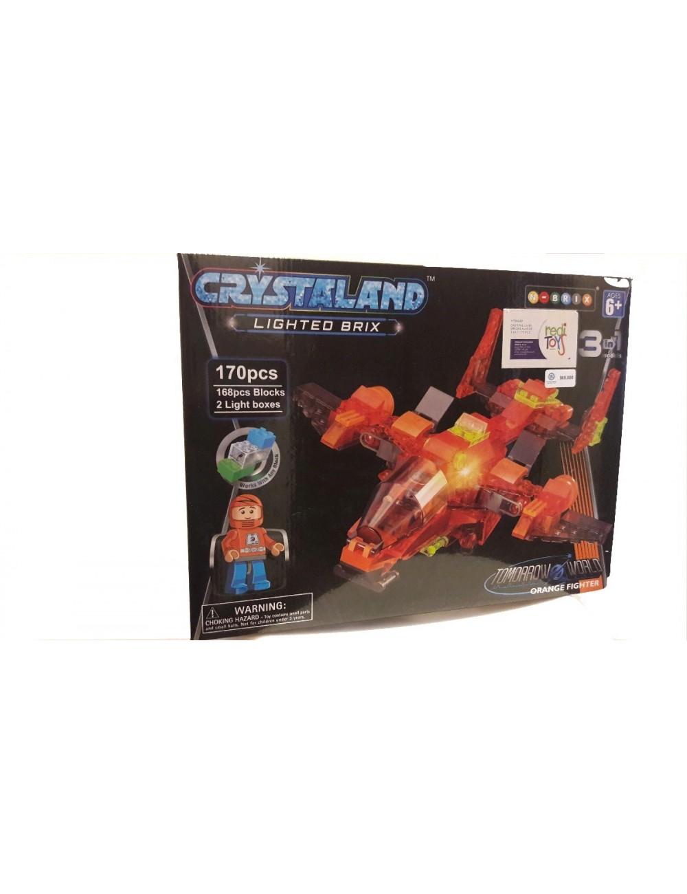 Lego Cristaland con luz 170 Piezas