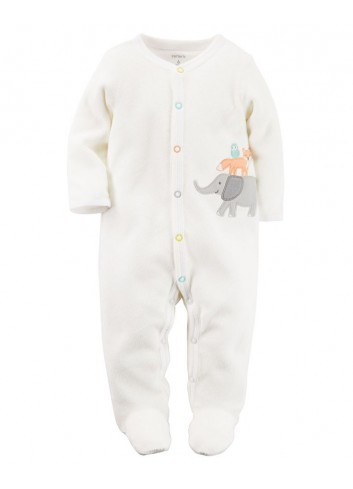 Pijama Enteriza Terry Safari - Carters