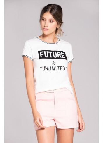 Camiseta Estampado Texto